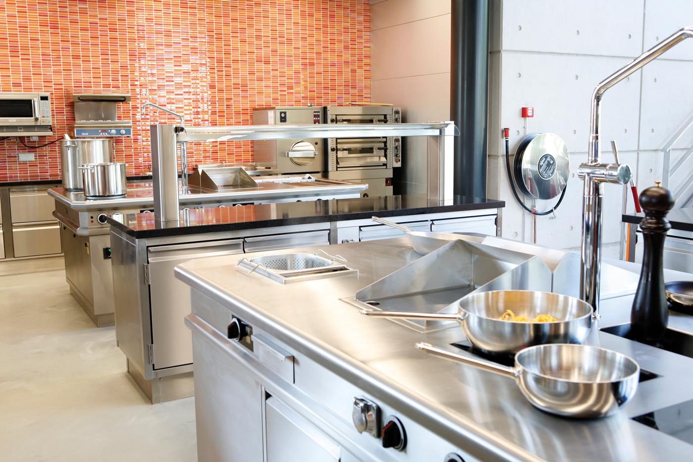 test kitchen in Verlo